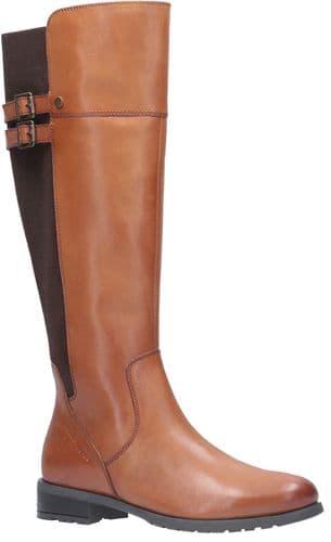 Hush Puppies Arla Ladies Long Boots Tan